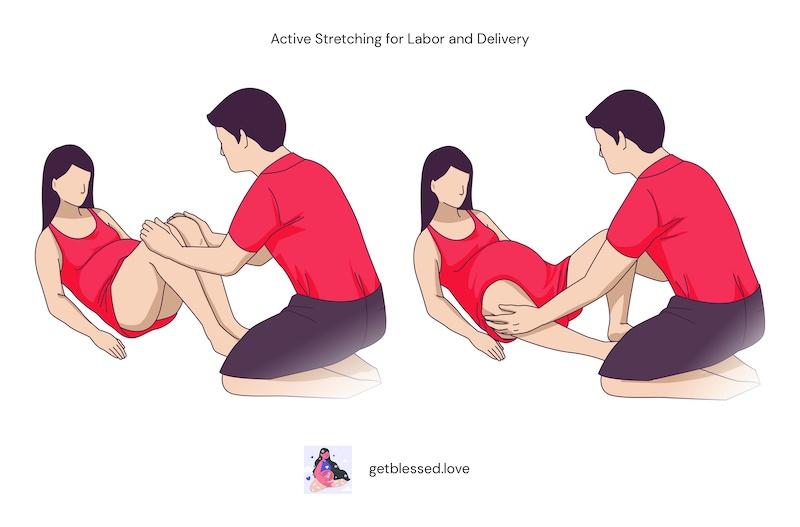 active stretching bradley method exercises