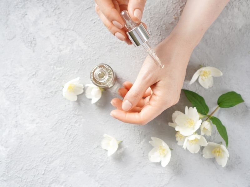 essential oils hand